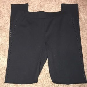 Pants - Small leggings with black bling